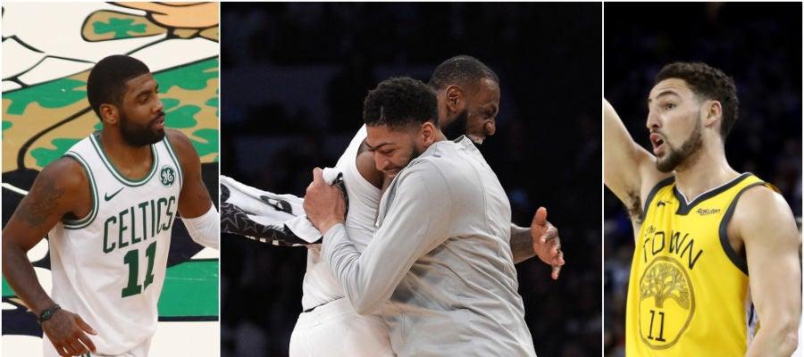El equipo que podrían formar los Lakers en un futuro no muy lejano
