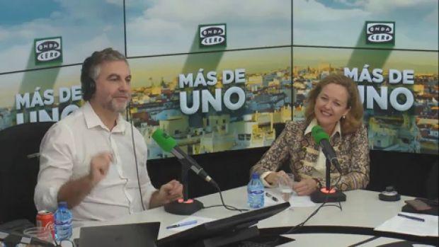 """Nadia Calviño: """"La agenda del cambio no está centrada en una subida de impuestos"""""""