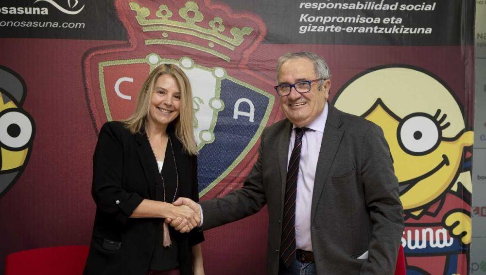 Luis Sabalza e Idoia Altadill