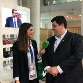 David García, alcalde de Nules entrevistado por Mireia Roig en Cevisama 2019