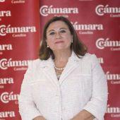 Lola Guillamón, presidenta de la Cámara de Comercio de Castellón.