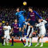 Barcelona - Real Madrid: Momento de un Clásico entre Real Madrid y Barcelona