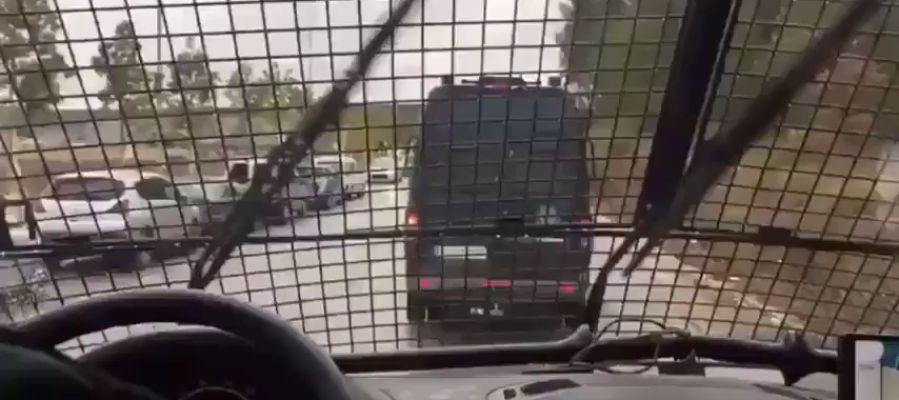 Suspenden de funciones a un guardia civil por el polémico vídeo del traslado de los presos del 'procés'