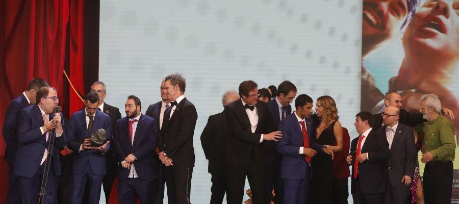 Campeones, de Javier Fesser, premio a la Mejor Película.