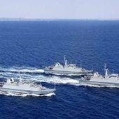 Buques de la Primera Escuadrilla de Cazaminas de la Armada Española