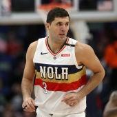 Nikola Mirotic, durante un partido con los Pelicans