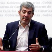 El presidente del Gobierno canario, Fernando Clavijo