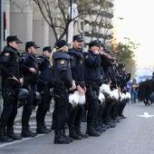 Habrá más de 1.000 efectivos de seguridad en el partido