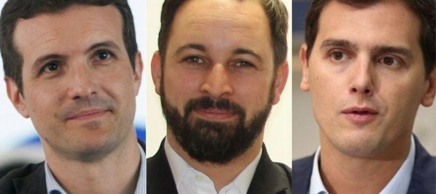PP, Ciudadanos y Vox convocan a miles de personas en Madrid para pedirle elecciones a Sánchez