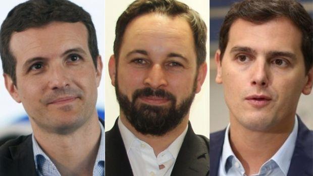 PP, Ciudadanos y Vox podrían formar Gobierno, según una encuesta