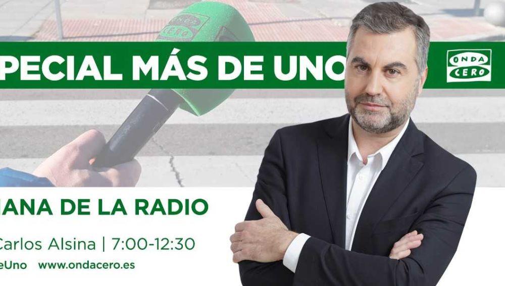 Especial Semana de la Radio en Más de Uno