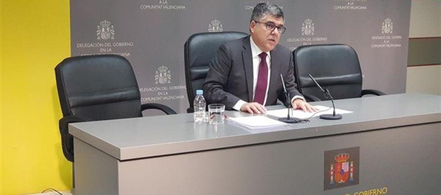 El delegado del Gobierno en la Comunitat, Juan Carlos Fulgencio.