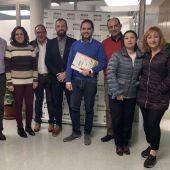 Concejales de Cs Elche con miembros de AESEC