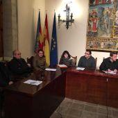 Durante la sesión plenaria ayer, en Vilafranca.