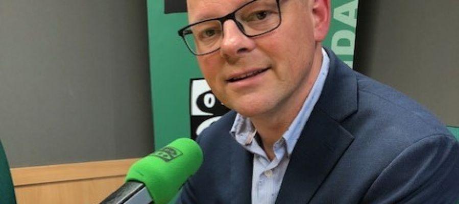 Antoni Riera, director técnico de la Fundación Impulsa Balears, en los estudios de Onda Cero Mallorca.