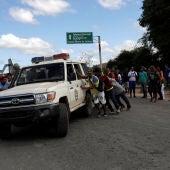 Frontera entre Venezuela y Brasil