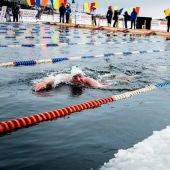 Natación en aguas heladas