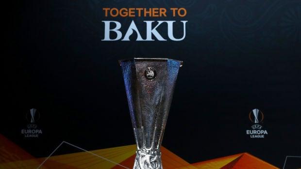 El trofeo de la Europa League