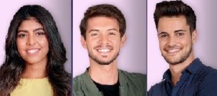 África, Carlos y Joan, exconcursantes de Operación Triunfo