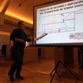 Lillo explicó el proyecto a las Hermandades de Ciudad Real