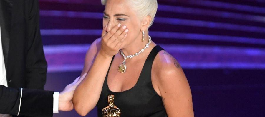 Lady Gaga recoge el Oscar a Mejor Canción