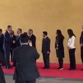 Felipe VI llega al Mobile World Congress