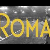 La Roma felicita a 'Roma' por sus tres Oscar... con el gol de Manolas al Barcelona