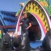 Manny Manuel actuando en Las Palmas