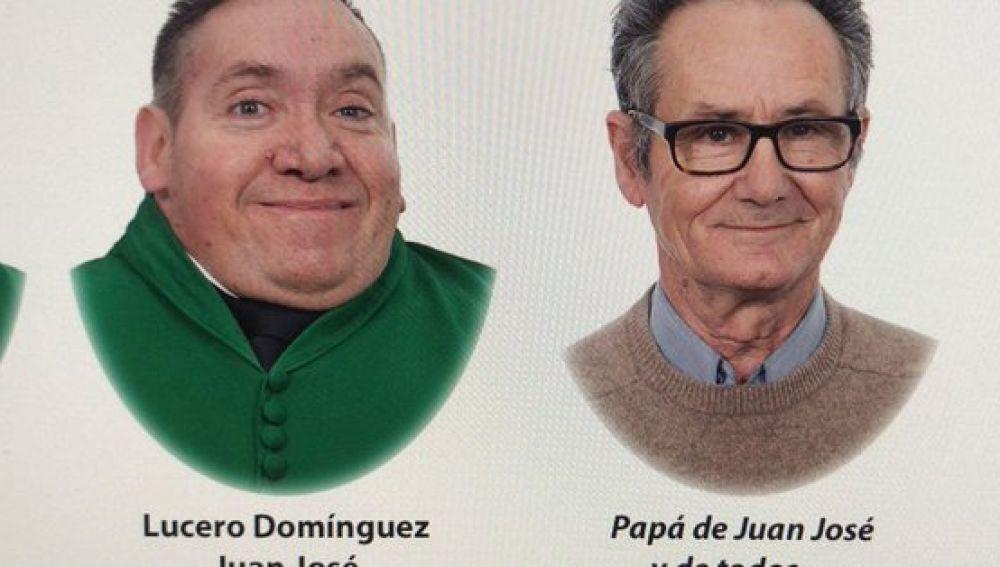 Imagen de la orla de Juan y Juan José
