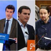 Noticias 2 Antena 3 (25-02-19) Los cinco partidos políticos invitados al debate de Atresmedia muestran su disposición a participar