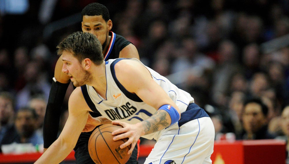 Luka Doncic, contra Los Angeles Clippers