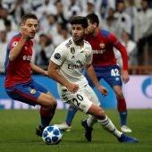 Marco Asensio, durante un partido