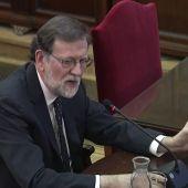 Las 10 frases de Rajoy en el juicio del 'procés'