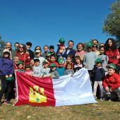 Autoridades y escolares han asistido a la suelta de un lince en Cabañeros
