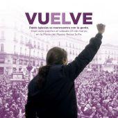 Imagen con la que Podemos ha anunciado la vuelta de Pablo Iglesias