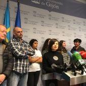 Rueda de prensa de las protectoras de animales en Gijón