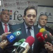 Francisco Núñez, presidente del PP en Castilla-La Mancha