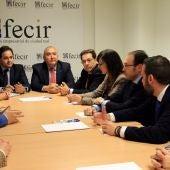 Núñez se ha reunido con la ejecutiva de FECIR