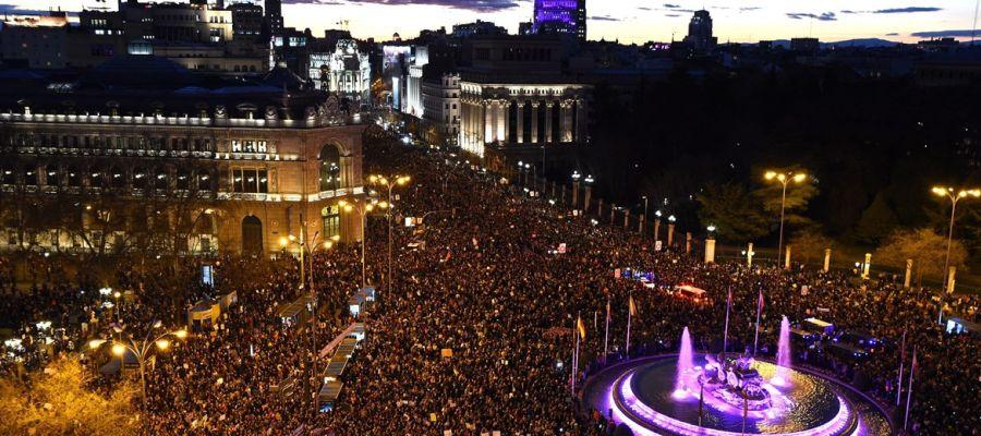 Manifestación del 8M de 2019 en Madrid
