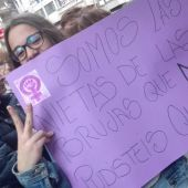 manifestacion dia de la mujer