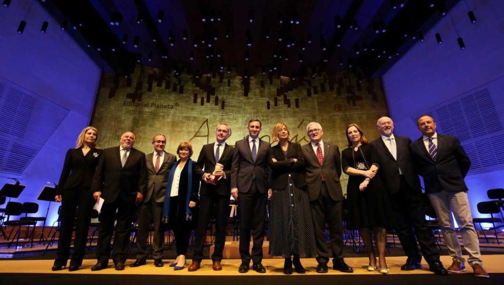 Gala de XXVI Premio Azorín de Novela celebrada en el ADDA