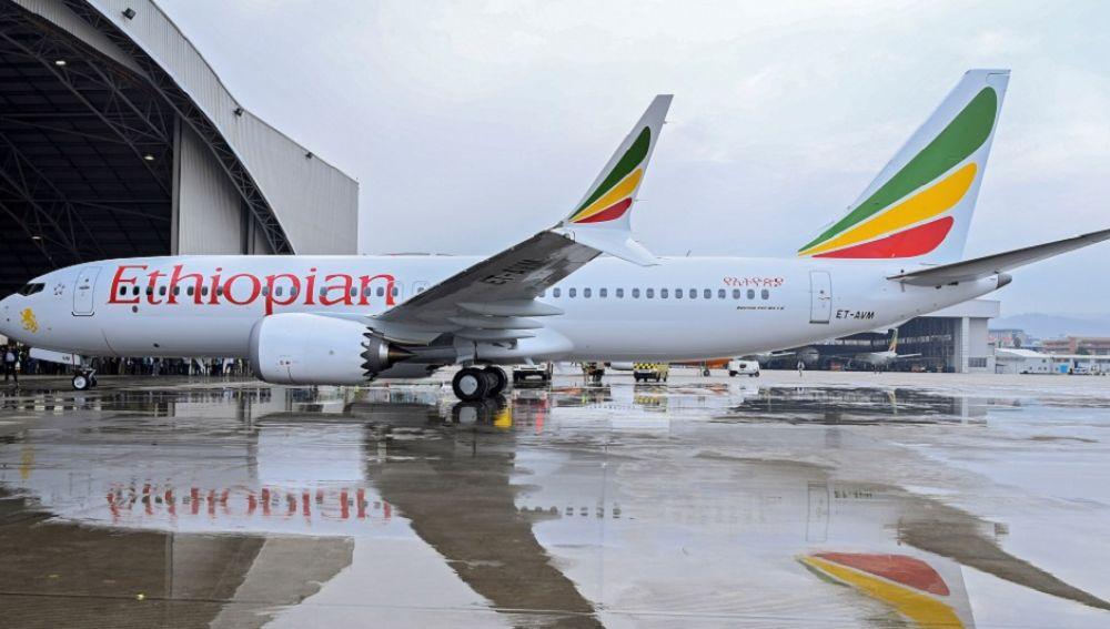 Imagen de archivo de un avión de la compañía Ethiopian Airlines