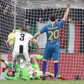 Juanfran Torres, en el partido ante la Juventus.