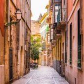 Calles del centro de Palma