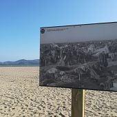 Playa de Argelès-sur-Mer una de las playas donde fueron encerrados los republicanos