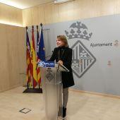 Marga Durán, Portavoz del PP en el Ayuntamiento de Palma.