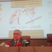 José Molina, presidente del Colegio de Médicos de Ciudad Real