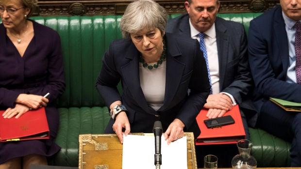 """El Gobierno de May ve """"casi imposible"""" una nueva votación del 'Brexit' esta semana tras el anuncio de Bercow"""