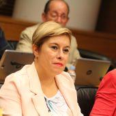 Merche Ventura, diputada de Ciudadanos en Les Corts.