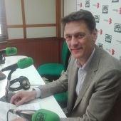 Antonio García Pastrana, durante la entrevista en Onda Cero Ciudad Real